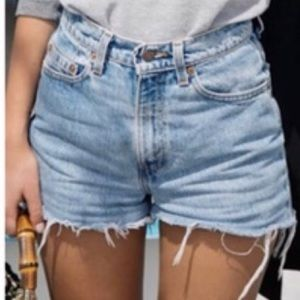 Levi's Vintage (orange tag) 505 shorts